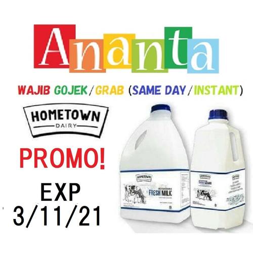 Foto Produk Fresh Milk Hometown 1 L - Home Town Susu Sapi Segar dari Baby Ananta