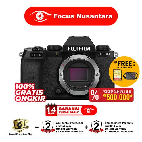 Foto Produk FUJIFILM X-S10 Body Only - Kamera Mirrorless / Fujifilm xs10 dari Focus Nusantara