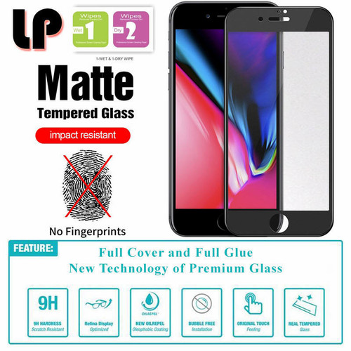 Foto Produk Full Matte Tempered Glass iPhone 7 Plus - 8 Plus dari HPGadget Bandung