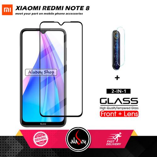 Foto Produk PAKET Tempered Glass Xiaomi Redmi Note 8 + TG Camera Lens Protector dari Aladoy Shop Acc