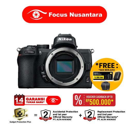 Foto Produk NIKON Z50 Body dari Focus Nusantara