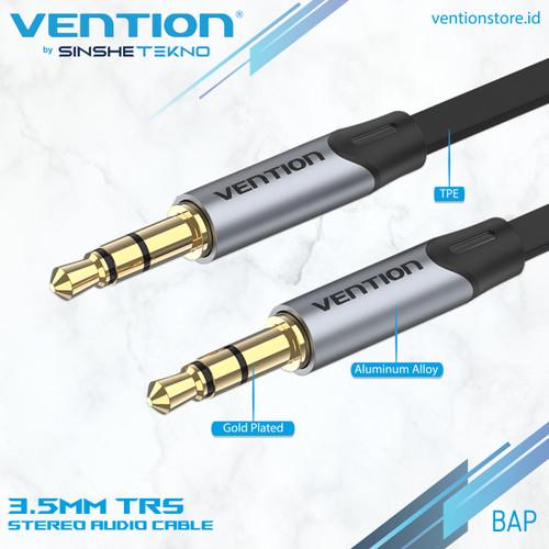 Foto Produk VENTION Kabel AUX FLAT 3.5mm Male to Male - 0.5 Meter dari VENTION by SinsheTekno