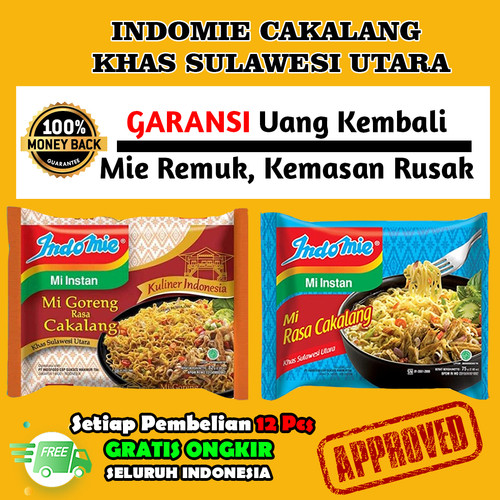 Foto Produk Indomie Cakalang Goreng Kuah Khas Manado Oleh Oleh Mie Mi Instant - Kuah dari Most Wanted Item