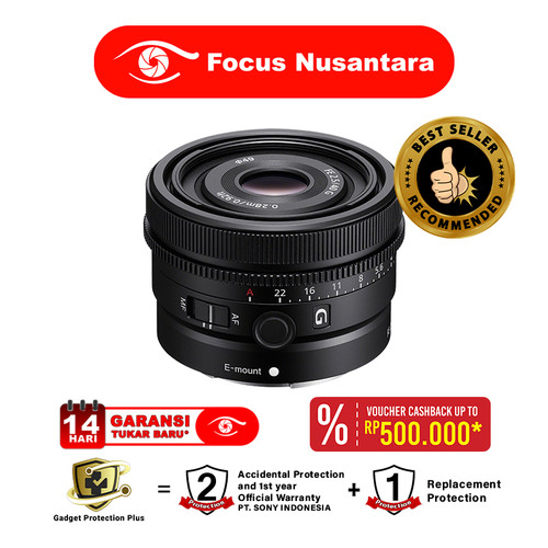 Foto Produk SONY FE 40mm f2.5 G dari Focus Nusantara