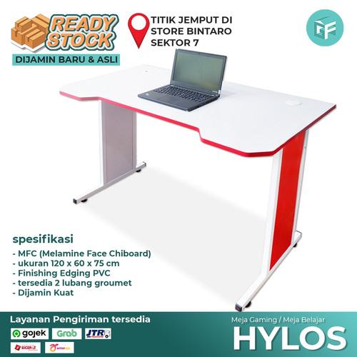 Foto Produk Meja Gaming Meja Komputer Murah Hylos dari Gudang Furniture ID