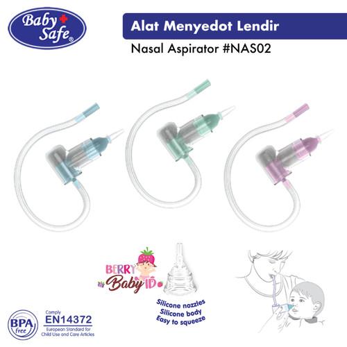 Foto Produk Baby Safe Baby Nasal Aspirator NAS02 Penyedot Ingus Bayi Anak BBS101 - Green dari Berry Baby