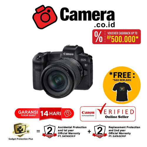 Foto Produk Canon EOS R with lens 24-105mm STM dari camera.co.id