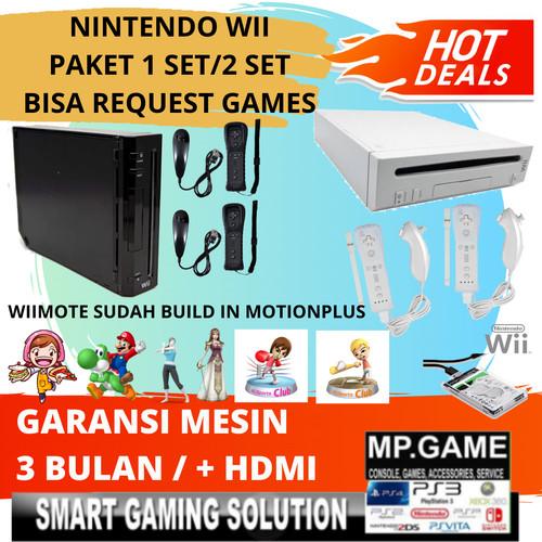 Foto Produk Paket Nintendo wii 320gb + 2 Set Wiimote nunchuck - MESINSJORIGINAL dari MPGAME