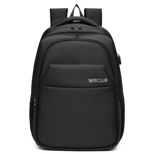 Foto Produk NavyClub Tas Ransel Tas Unisex - FJEA Backpack Up To 15.6 Inch - Hitam dari Navy Club Official Store