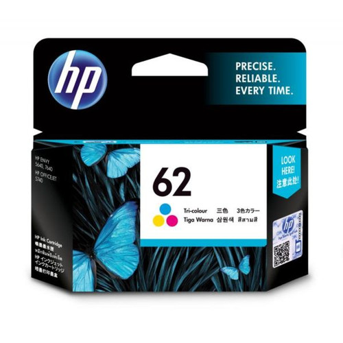 Foto Produk Tinta HP 62 Tri-Color ink cartridge C2P06AA dari PojokITcom Pusat IT Comp