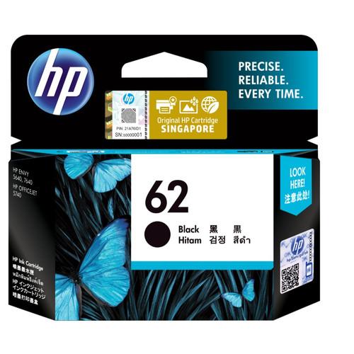 Foto Produk HP 62 Black Ink Cartridge ( C2P04AA ) ORIGINAL dari PojokITcom Pusat IT Comp