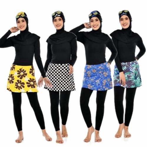 Foto Produk Baju renang muslimah dewasa baju renang wanita/perempuan muslim - M dari sakinahbusana
