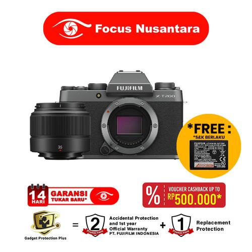 Foto Produk FUJIFILM X-T200 Kit XC 35mm f/2 R dari Focus Nusantara