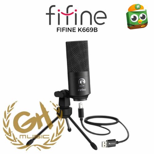 Foto Produk MIC FIFINE K669B MICROPHONE FOR GAMING,RECORDING,PODCASTING&YOUTUBER dari GH MUSIC STORE