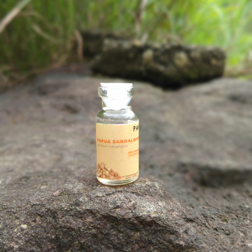 Foto Produk sampel 2 ml - minyak cendana papua / papua sandalwood oil dari pavettia essential oil