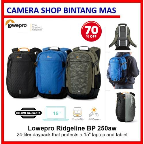 Foto Produk Lowepro RidgeLine BP 250 AW - Biru dari Camera Shop Bintang Mas