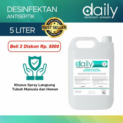 Foto Produk Disinfektan Best Seller Daily Regular Refill 5L dari ihsan's store
