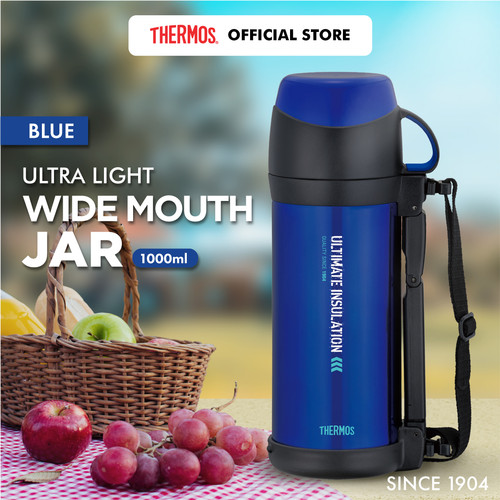 Foto Produk Thermos Ultra Light Wide Mouth Jar - Blue 1000ml (FFW-1000-BL) dari Thermos Indonesia