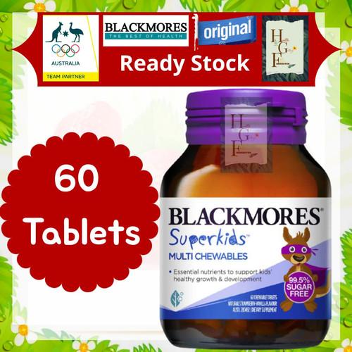 Foto Produk Blackmores Superkids Multi Chewables 60 Tablets dari Health Gallery Forrester