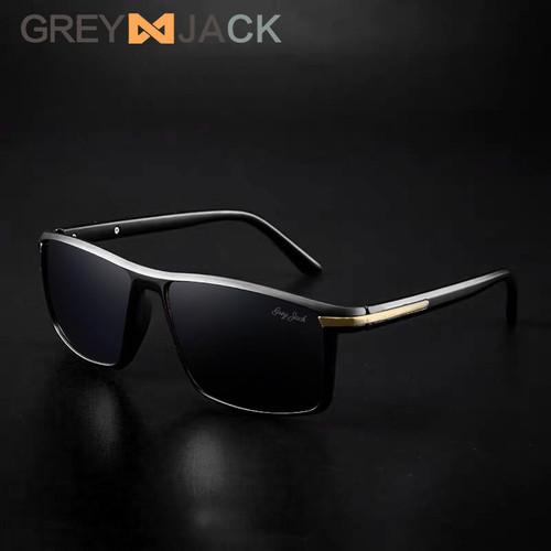 Foto Produk Grey Jack/ Kacamata Hitam Pria dan Wanita / Sunglasses /5083 - black glossy dari Grey Jack