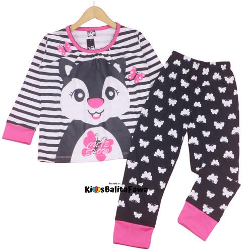 Foto Produk Piyama Za-ra Kids Size 7-10 Tahun / EXPORT Quality Baju Tidur Kaos - 10 dari Kios Balita Fawa