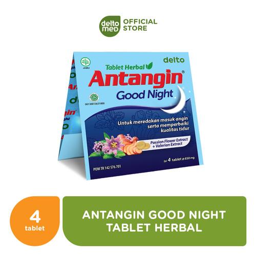 Foto Produk Antangin Good Night Tablet Herbal (20 Strips isi 4 tab) dari Deltomed Store