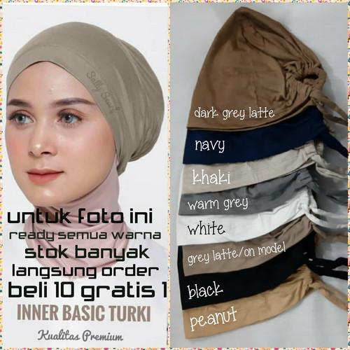 Foto Produk Inner basic Turki( daleman ciput )ikat tali belakang kaos premium dari Winnie Collection