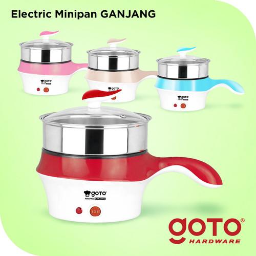 Foto Produk Goto Ganjang Panci Listrik Elektrik Fry Pan Serbaguna Portable - Merah dari GOTO Hardware
