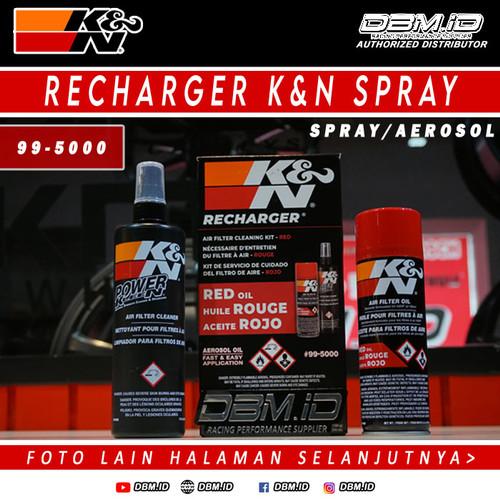 Foto Produk Pembersih Filter K&N Recharger K&N KN KNN Aerosol Oil Spray 99-5000 dari DBM