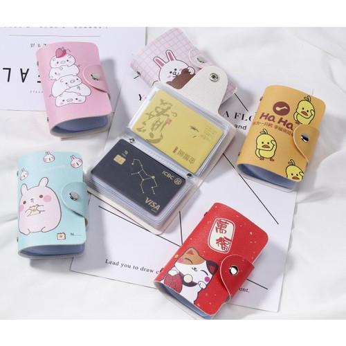 Foto Produk DKK15 Dompet Kartu Lovely and Cute Card Holder - lmo dari EnnWen Online Store