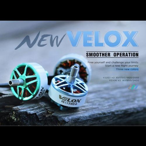 Foto Produk TMotor VELOX V2 V2207 1750KV - 2550KV Brushless Motor - 1750KV dari DooFPV