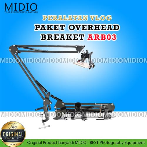 Foto Produk Midio Overhead Braket HP ARB03 Plus HOLDER HP dari Midio