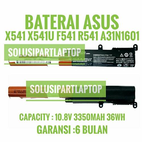 Foto Produk BATERAI A31N1601 ASUS X541 X541N X541NA X541S X541UA X541UV F541UA dari SolusiPartLaptop