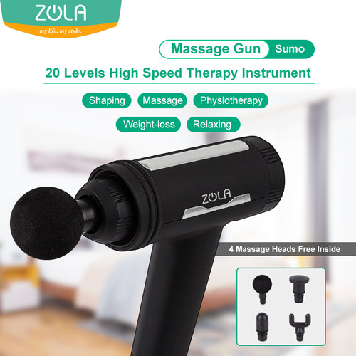 Foto Produk Zola Sumo Massage Gun Muscle Relaxer Massager With Therapy Instrument dari Zola Indonesia
