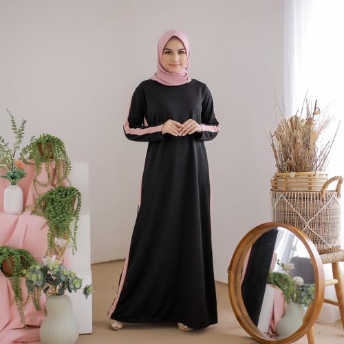 Foto Produk Mybamus Casual Line Dress Black M14523 R81S3 dari Mybamus Official