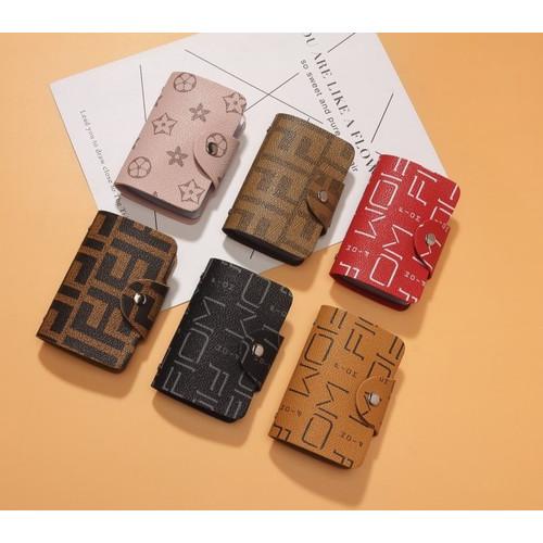 Foto Produk DKK11 Dompet Kartu Keren Card holder - red dari EnnWen Online Store