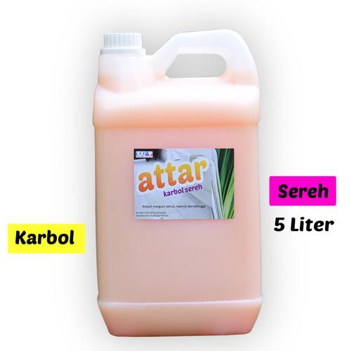 Foto Produk Karbol SEREH Wangi - Attar 5 Liter dari Tasneem TangSel