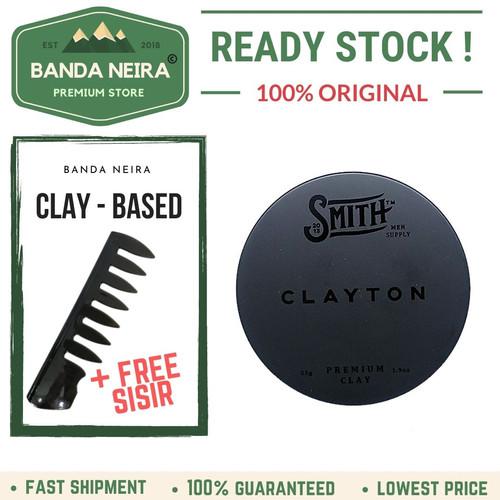 Foto Produk Smith Clayton Premium Waterbased Original Lokal Murah Pomade dari Banda Neira Store