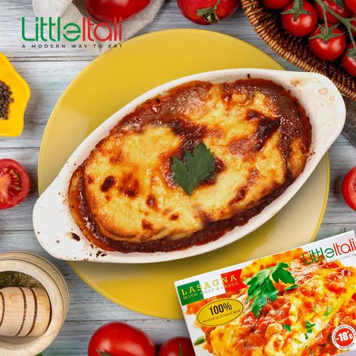 Foto Produk Lasagna with Meat & Sauce(little itali) frozen food dari Little itali jakbar