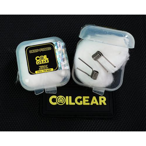 Foto Produk Coil Gear Fused Clapton Full TMNi80 Isi 1 Pasang 0.2Ohm Koil Coil Vape dari VapeOi