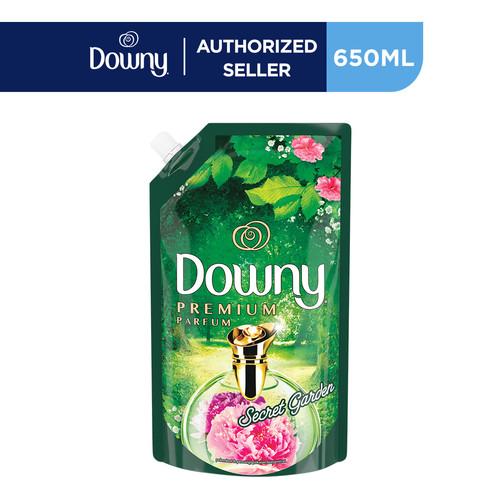 Foto Produk Downy Pelembut & Pewangi Pakaian Secret Garden Reffil 650ml dari P&G Official Store