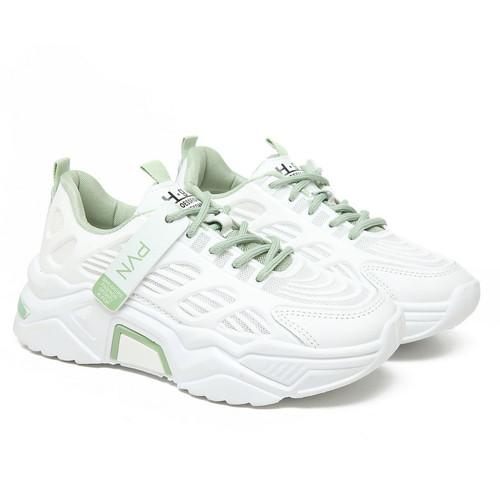 Foto Produk PVN Luna Sepatu Sneakers Wanita White Pink Tosca Sport Shoes 240 - White Tosca, 36 dari PVN Official Store