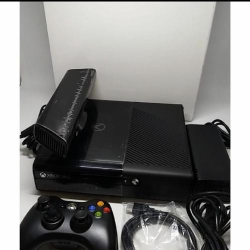 Foto Produk XBOX SLIM 250GB SUDAH RGH TERBARU PAKET KINECT SENSOR &STIK XBOX KABEL dari Fun Game Shop