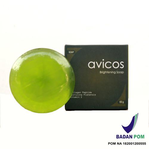 Foto Produk Avicos Brightening Soap ( Sabun Pemutih) dari Avicos Official