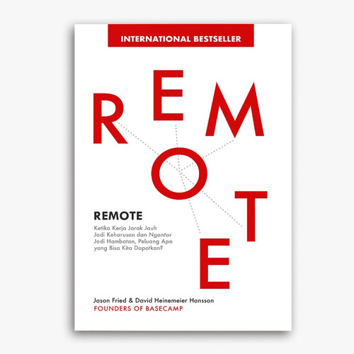 Foto Produk Renebook - Buku Remote Jason Fried dan David Heinemeier Hansson dari Renebook Turos