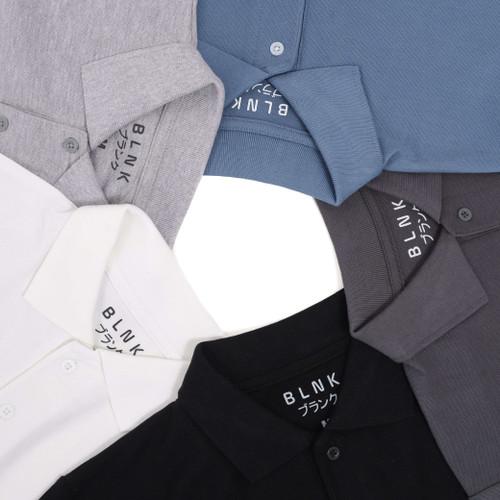 Foto Produk Kaos Polo Pria Premium / Kaos Polo Shirt / Kaos Pria Berkerah - BLANK - Abu Tua, S dari BlankApparelOfficial