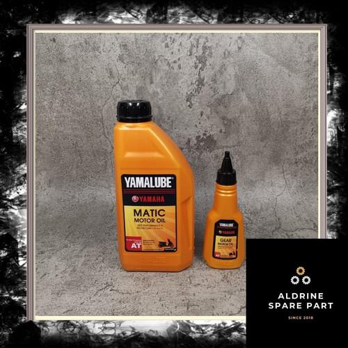 Foto Produk Paket Yamalube Matic 800 ML dan Oli Gardan Yamalube 100 Ml dari Aldrine Spare Part Shop
