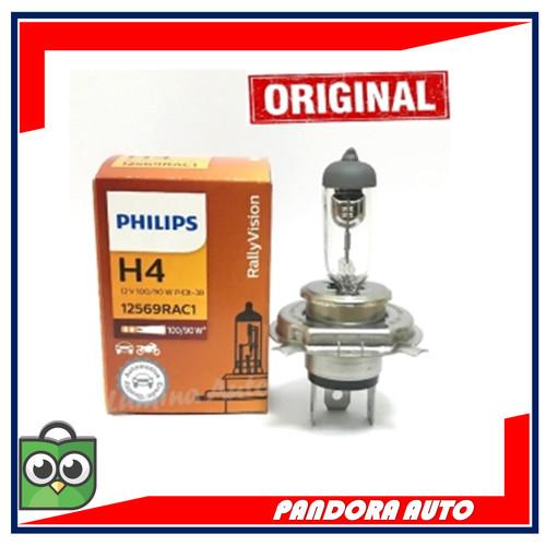 Foto Produk BOHLAM PHILIPS LAMPU HEADLAMP MOBIL H4 100/90 W 12V ORI (GROSIR MURAH) dari Pandora Auto