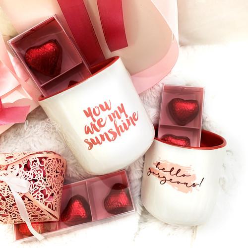Foto Produk Valentine LoveBox Mug Set | Valentine Hampers - my sunshine dari LoveBoxGiftBox