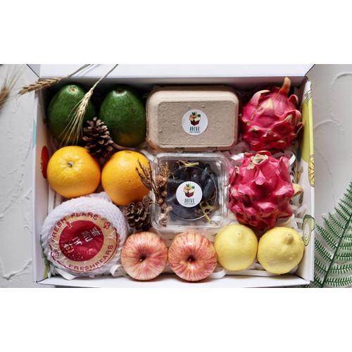 Foto Produk Parcel Buah ABOVE (A Box of Vegetables) / Silver Set Hampers dari Above (A Box Of Vegetables)